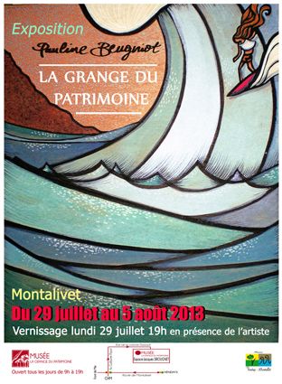 EXPO : PAULINE BEUGNIOT A MONTALIVET