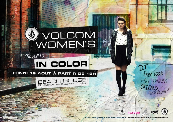 EVENT : VOLCOM WOMEN'S A LA BEACH HOUSE
