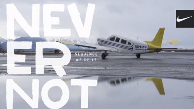 FILM : NEVER NOT, Nike Snowboarding trailers