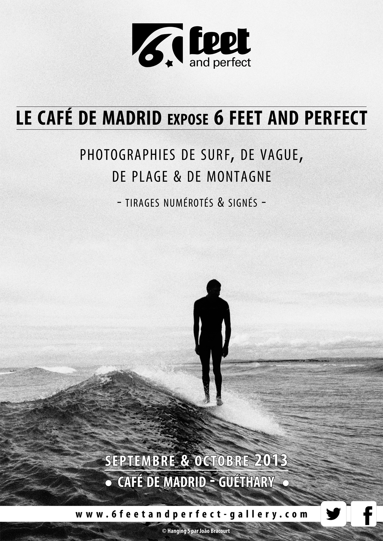 EXPO : « 6 FEET & PERFECT » A GUETHARY
