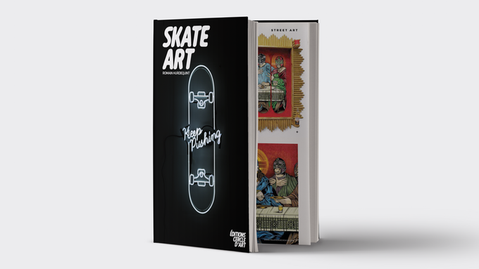 Skate Art – Art, Illustration, Design & Broken Boards